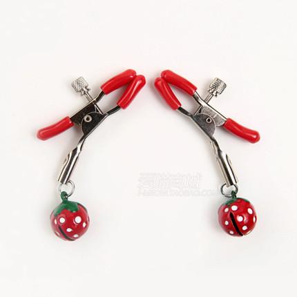 SM情趣乳夹阴唇夹乳头刺激乳头铃铛另类玩具情趣用品捆绑女用器具