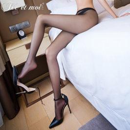 情趣内衣情趣丝袜超薄性感一线档开档连裤袜透视免脱