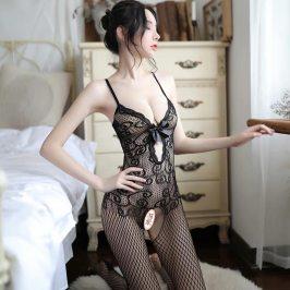 性感内衣情趣丝袜撕扯调情骚开档免脱床上衣服诱惑女激情套装超骚